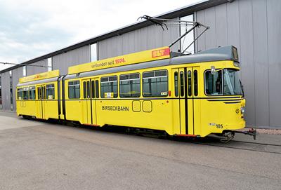 Wagen nr 105 birseckbahn